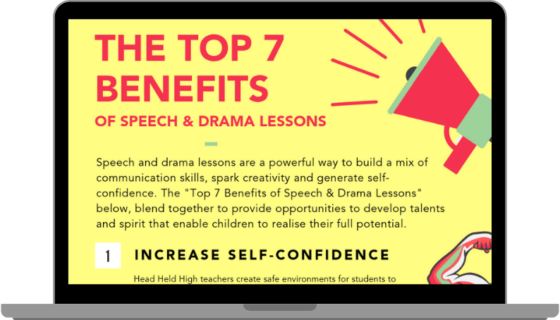 Top 7 Benefits of Speech & Drama Lessons